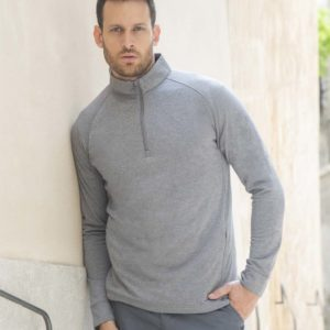 Henbury /¼ zipl lightweight inner fleece