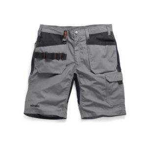 Scruffs T52823 Cargo Shorts-Charcoal-30 Charcoal